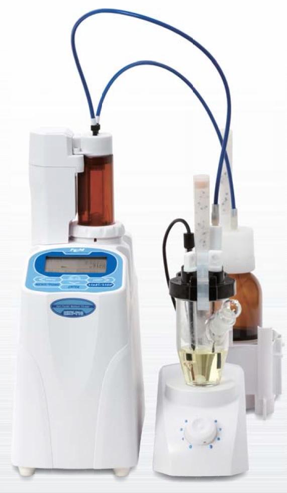 容量法卡氏水分测定仪 MKV-710B